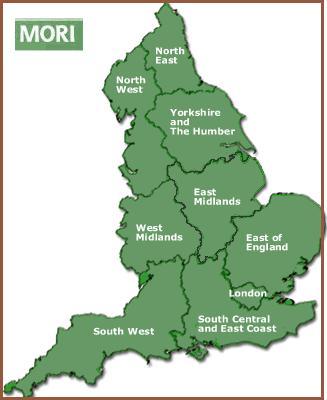 Big England Map